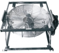 Transformer Fan with Support Frame
